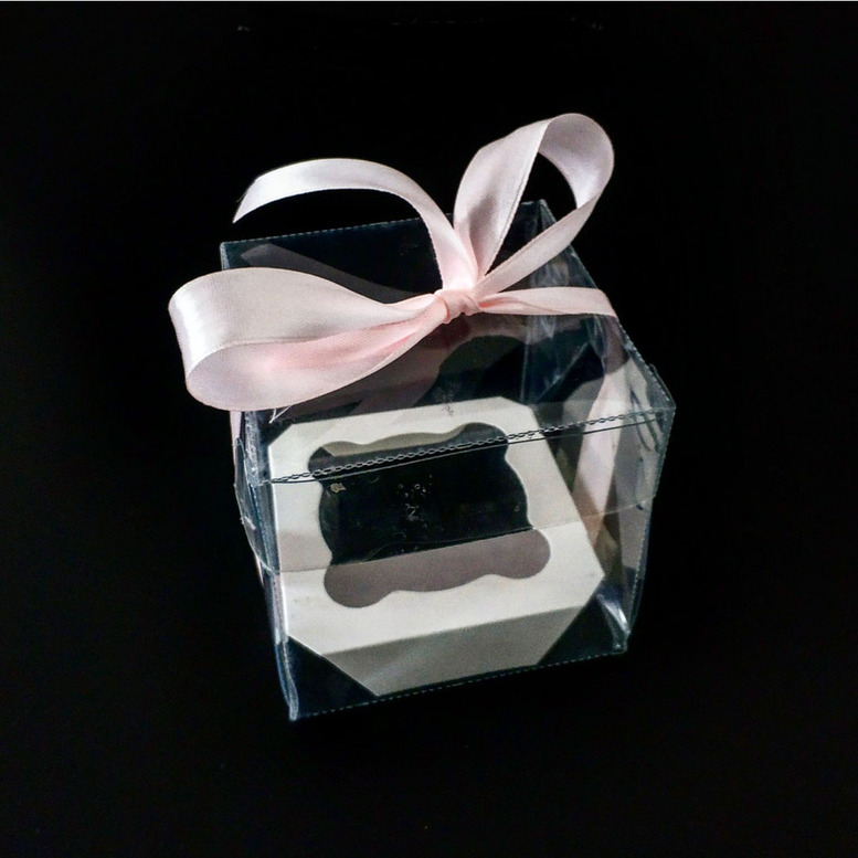 Коробка для 1-го кекса 100х100х100 (для торта/ПЭТ)