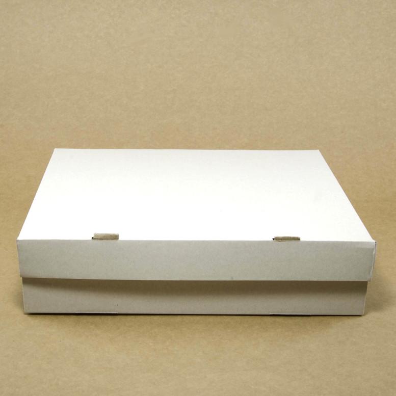 Коробка для кексов 6 шт. 250х170х80 белая, м/г.