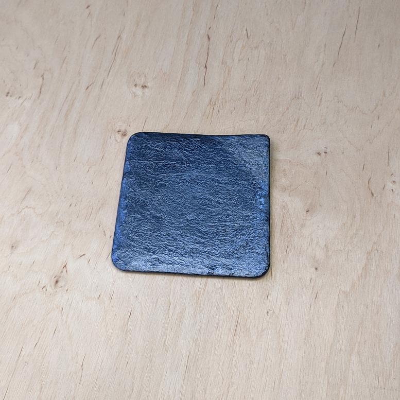 Тарілка (піднос) Камінь Сіра 11х11см, Alcas