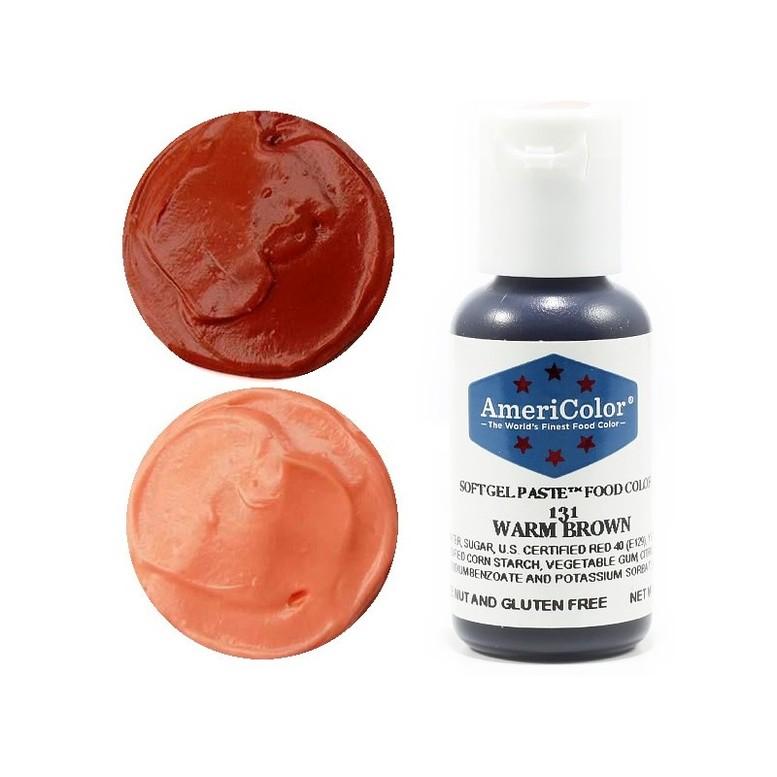 Краситель гелевый Americolor (тепло коричневый)
