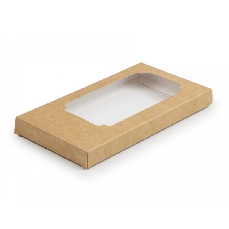 Коробка для шоколаду 160х80х17мм Крафт