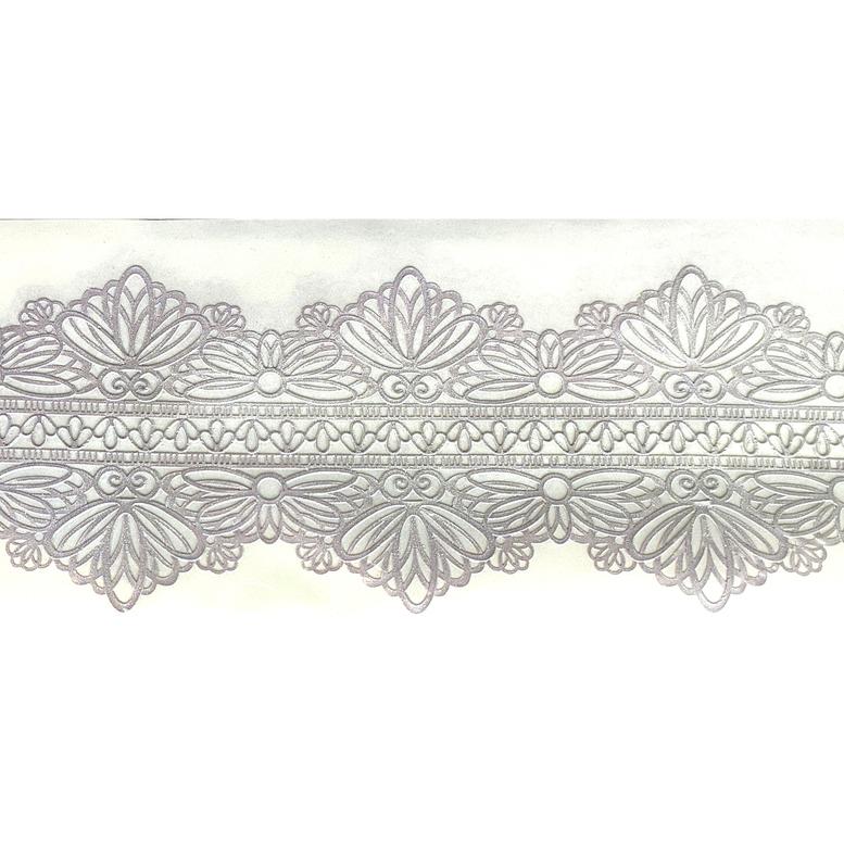 Мереживо для торта 14 (срібне), Slado