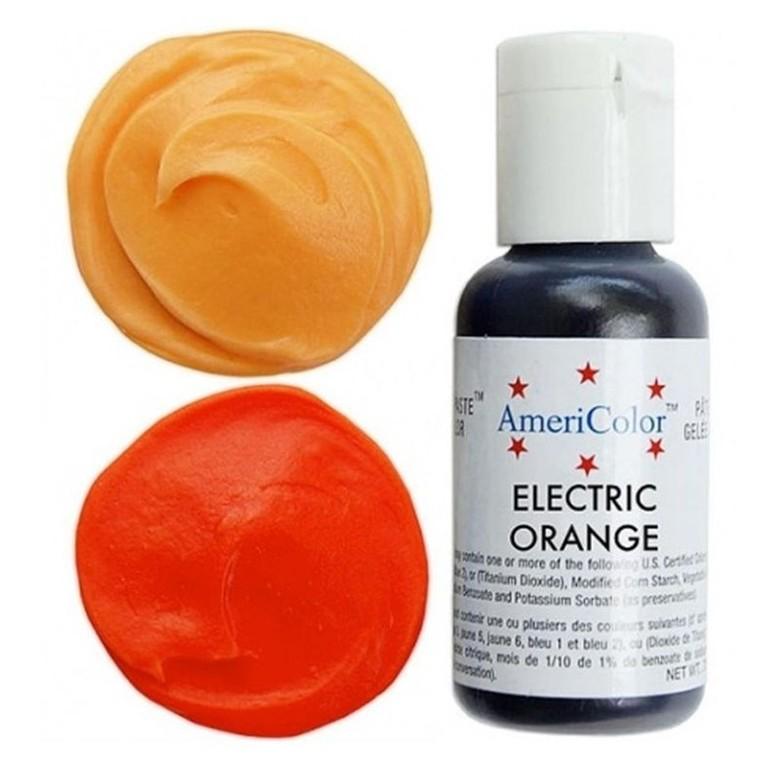 Краситель гелевый Americolor (оранжевый электрик)