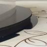 Коробка для торта 250х250х150 (тубус) черная/основание 10 мм (1 шт.)