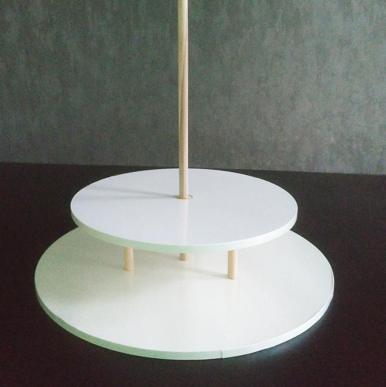 Конструкция для торта - 40 см/30 см (меж.ярус 8 см)