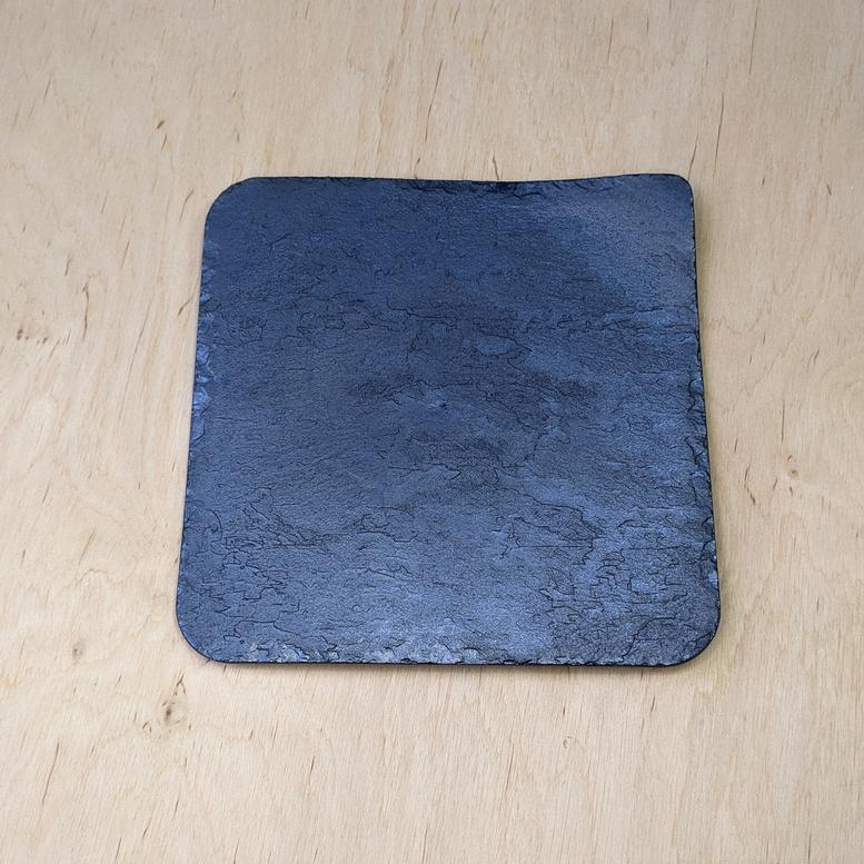 Тарілка (піднос) Камінь Сіра 24х24см, Alcas