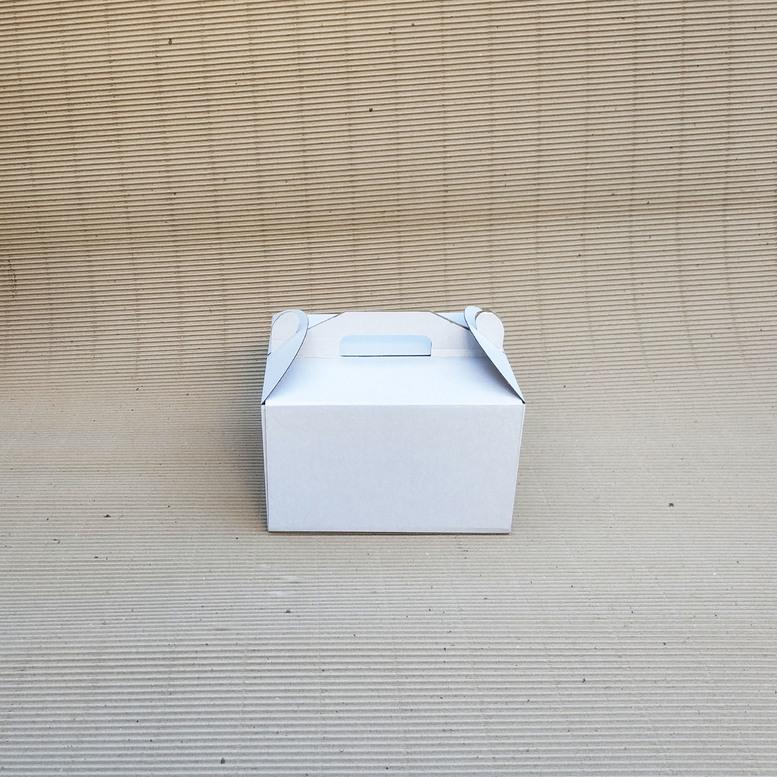 Коробка для торта 250х250х150 белая, м/г.