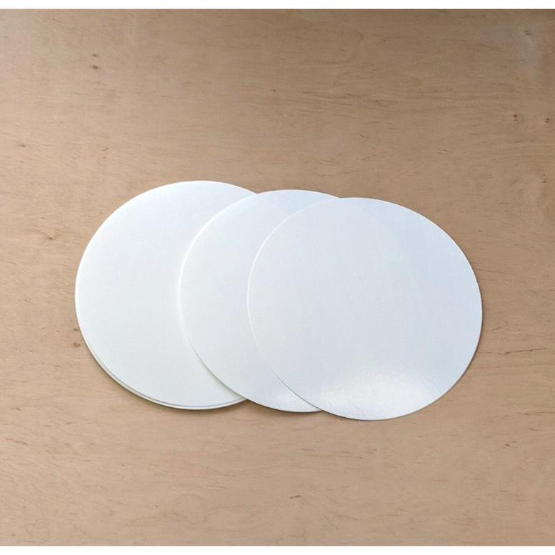 Подложка белая ламинированная D30, 100 шт/уп