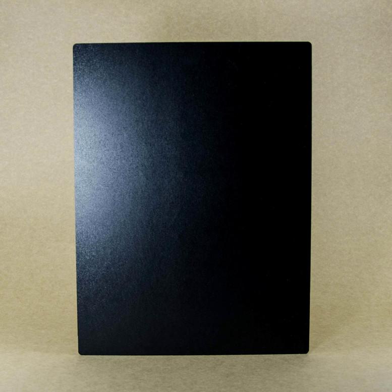 Поднос черный 30х40 ДВП прямоугольный (торец дерево)