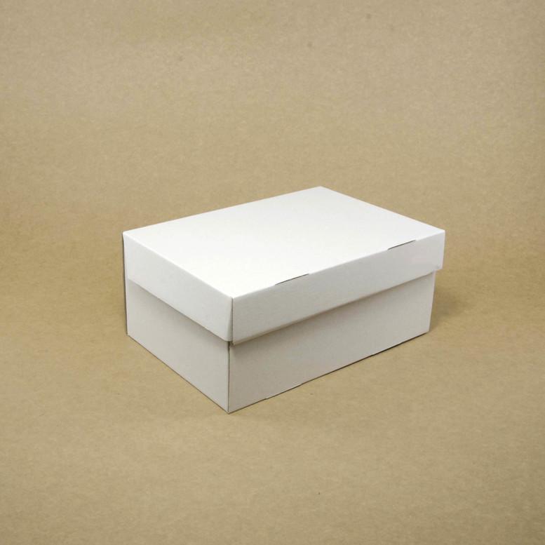 Коробка для кексов 6 шт. 250х170х110 белая, м/г.
