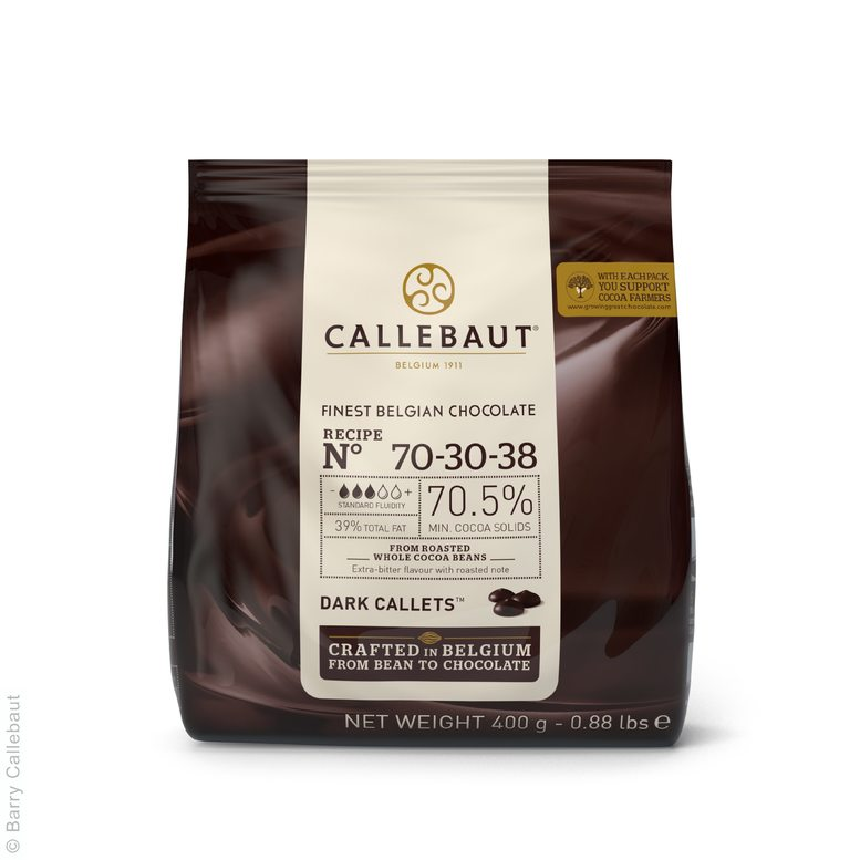Чорний Шоколад № 70-30-38, 0,4 кг