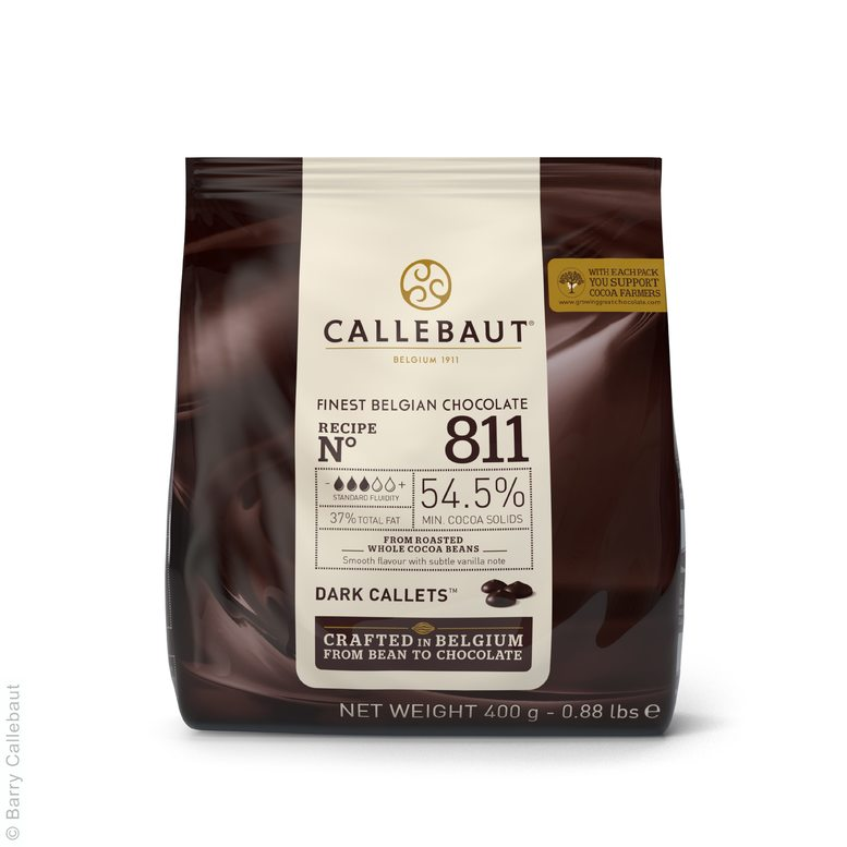 Чорний Шоколад № 811, 0,4 кг