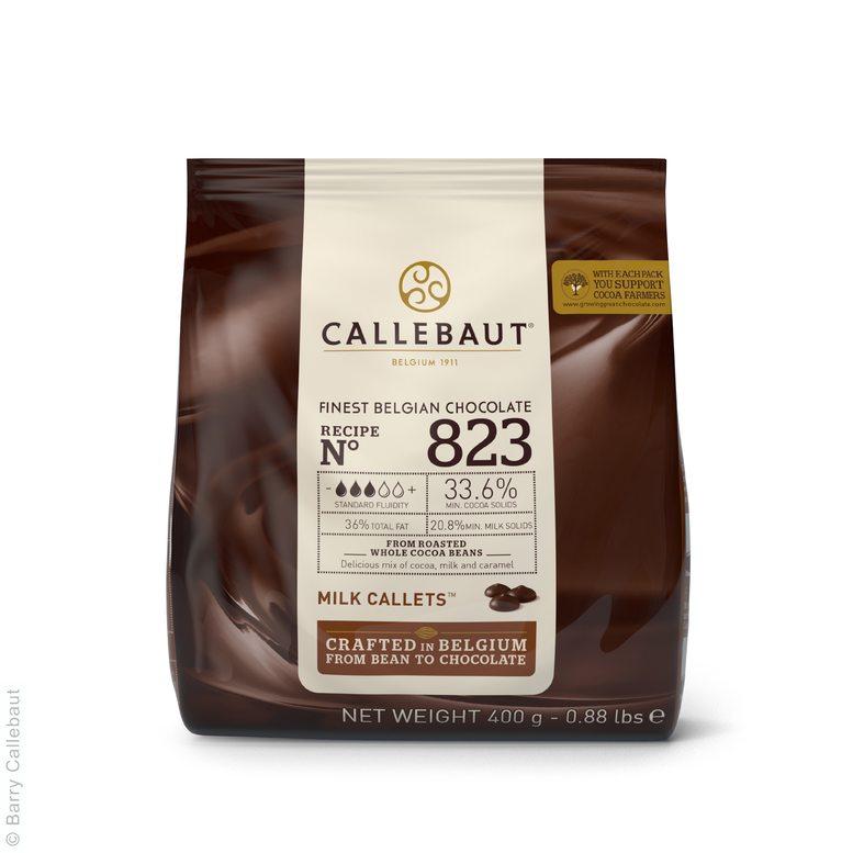 Молочний Шоколад  № 823, 0,4 кг