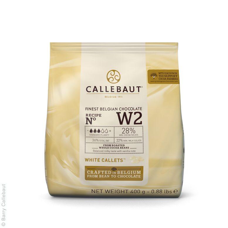 Білий Шоколад  N° W2, 0,4 кг