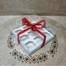 Коробка для 9-ти кексов 255х255х110 (для торта/ПЭТ)