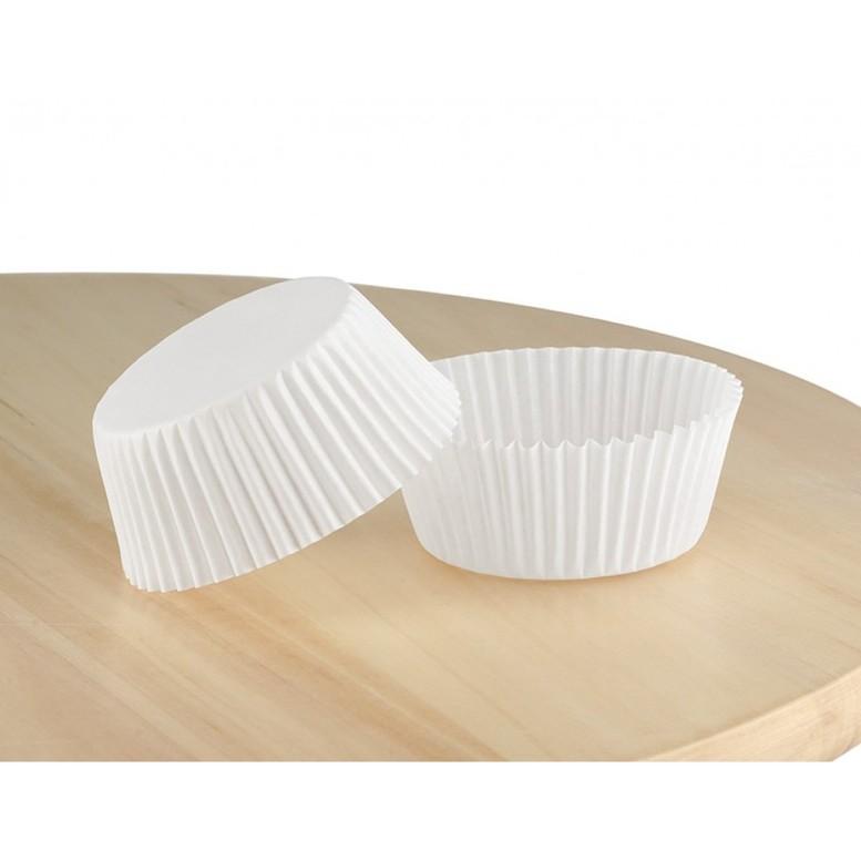 Паперова форма для цукерок 35х20 Біла, 20шт/уп