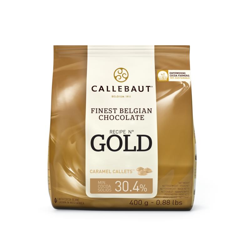 Шоколад Gold, ТМ Callebaut, 0,4 кг