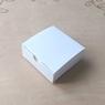 Коробка Мини Бокс 83х83х30 мм Белая, мел/к