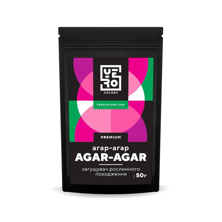 Агар агар YERO Colors, 50г