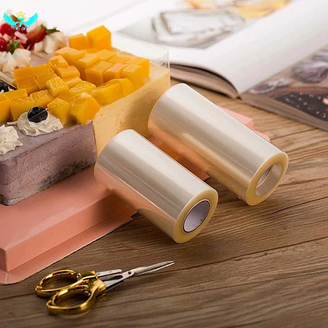 Ацетатная лента для торта h-100 мм (рулон 10 м) Плотная, 82 мкм
