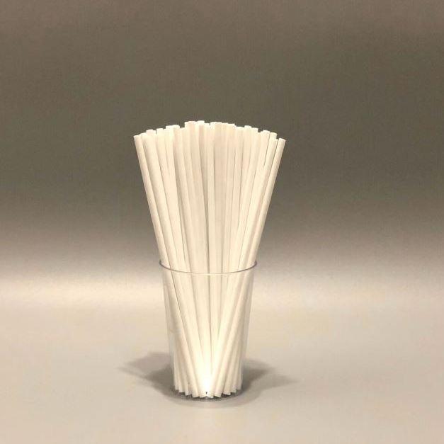Палички для кейк-попсів Білі 150мм, 50 шт/уп