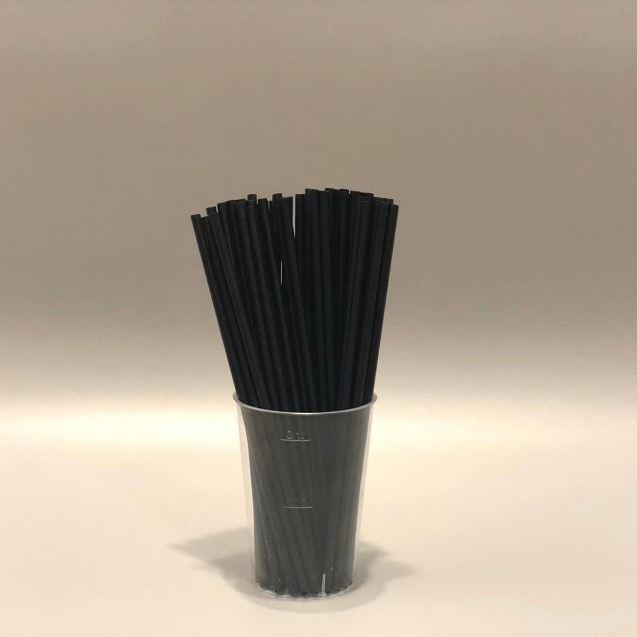 Палички для кейк-попсів Чорні 150мм, 50 шт/уп