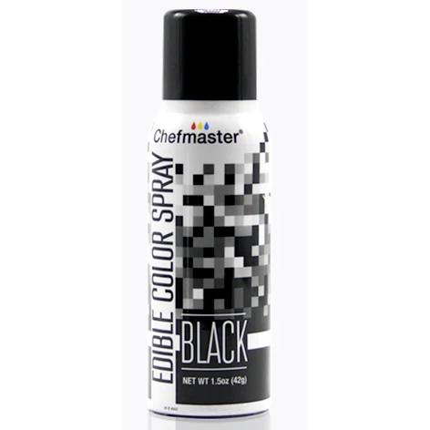 Краситель спрей Черный Chefmaster Color Spray, 42г