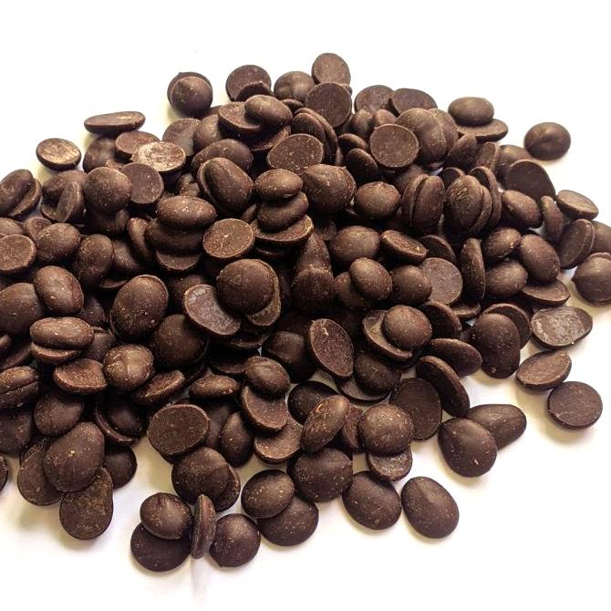 Шоколад Аріба чорний 54% диски, Master Martini, 100г