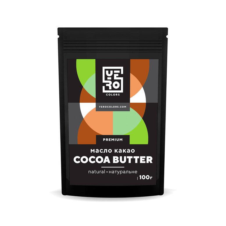 Какао масло YERO colors, 100г