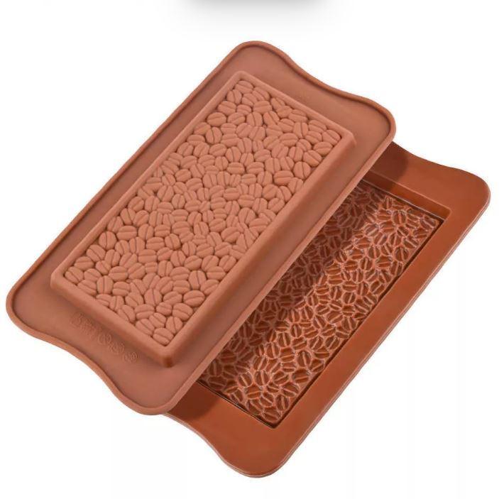 Форма для шоколада Кофейные зерна 21х10,5 см