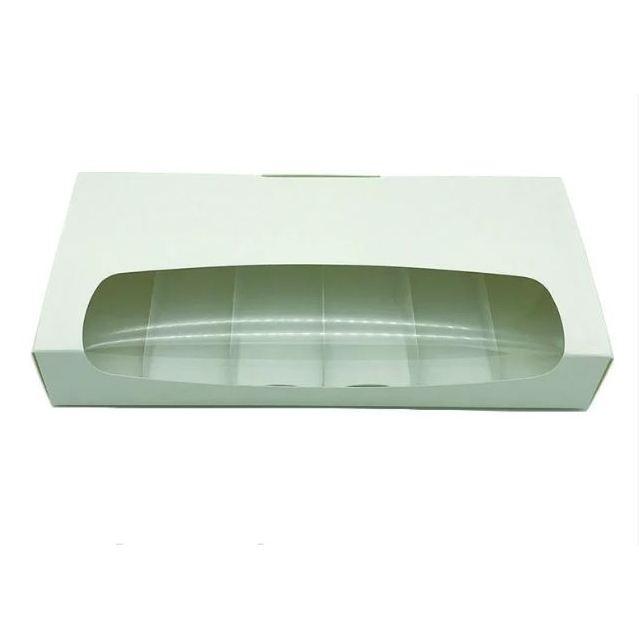 Коробка для пирожных Эскимо, эклеров 31×14,5×5см, мел/к.