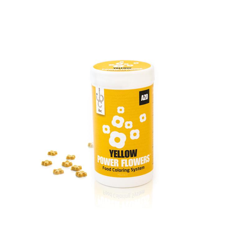 Барвник жовтий 50 г/ Power Flower AZO Yellow
