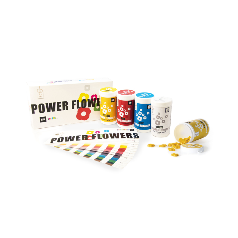 Набір барвників Power Flower Discov AZO box (4x50) 200 г