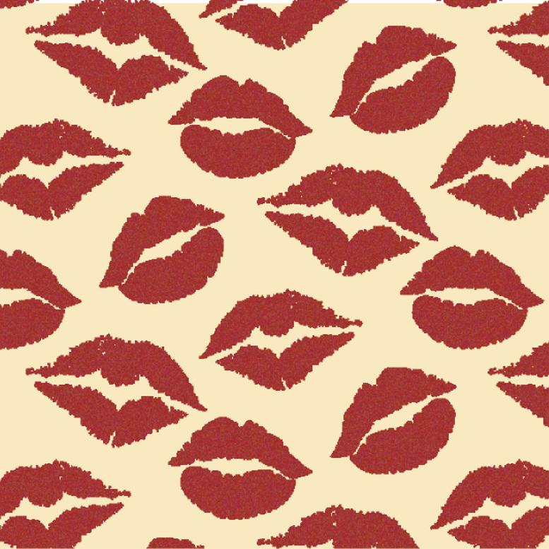"""""""Поцілунки"""" трансфер, 5 листов"""