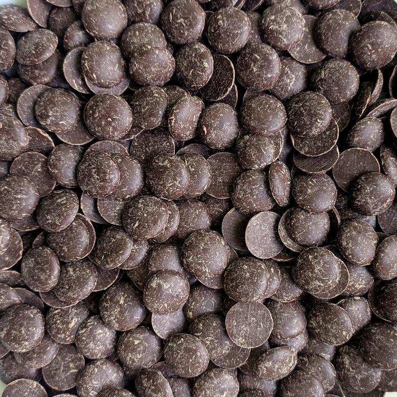 Шоколадна глазур Диски коричневі NIVES DARK, Irca, фасовка 1кг