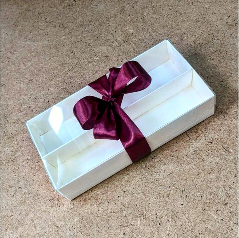 Коробка для макаронс 210х100х50/ ПЭТ