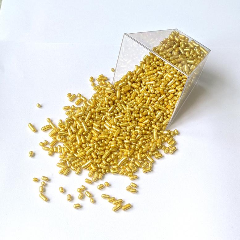 Посипка Вермішель цукрова Золота Amarischia, 50г
