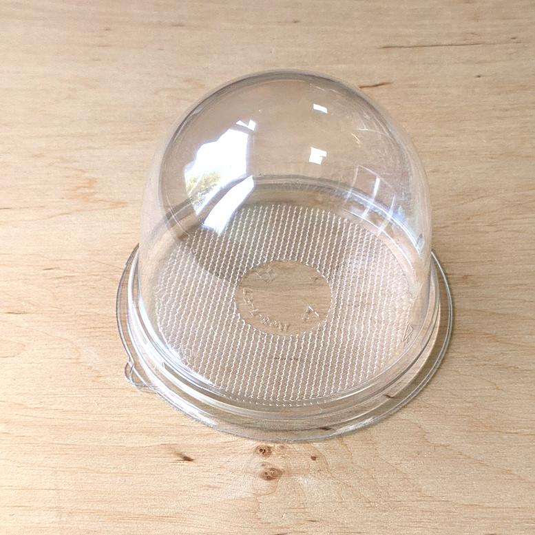 Упаковка для десерта Купол 9х8см Прозрачная