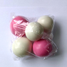 Желейні кульки білі/рожеві (5 шт/уп), Slado