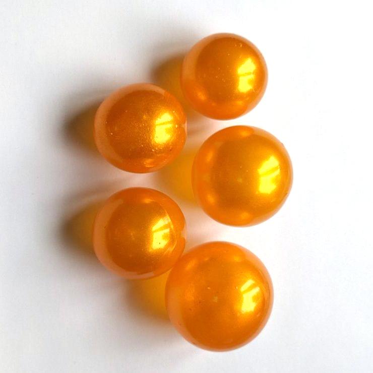 Желейні кульки золоті (5 шт/уп), Slado