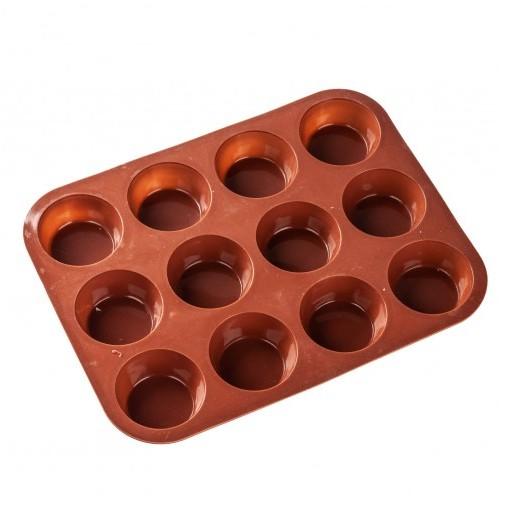 Форма для выпечки кексов 6,5 см/12 ячеек