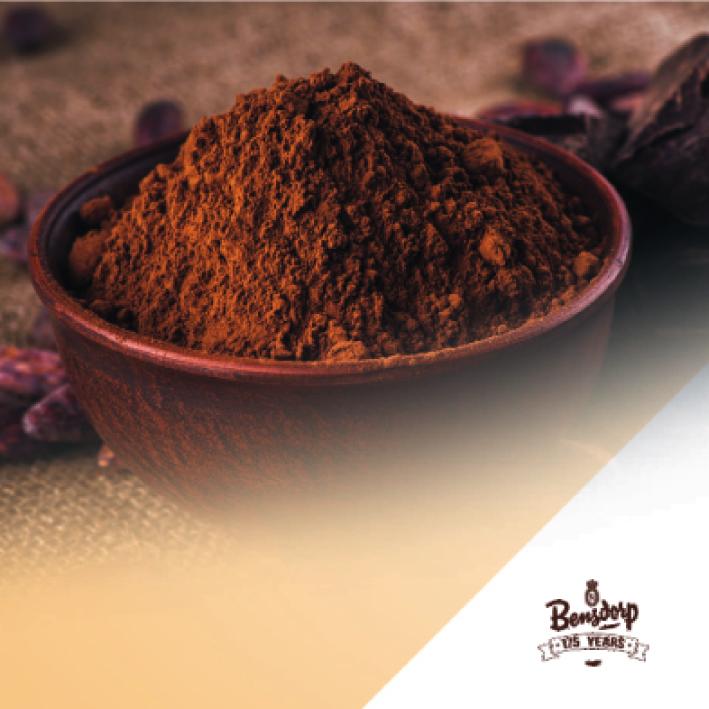 Какао порошок полножирный 22-24%, 25 кг