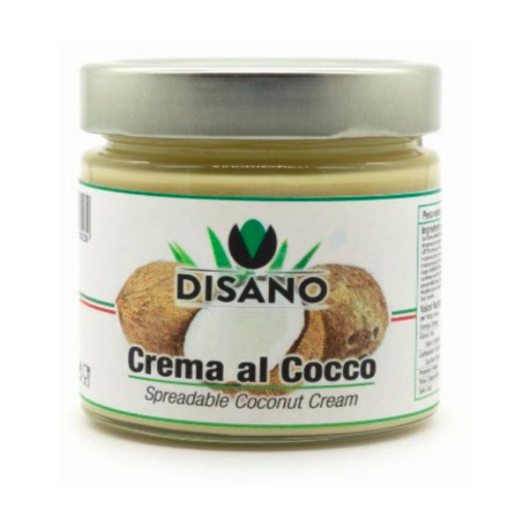 Крем паста кокосова 18%, Disano, 0,2 кг