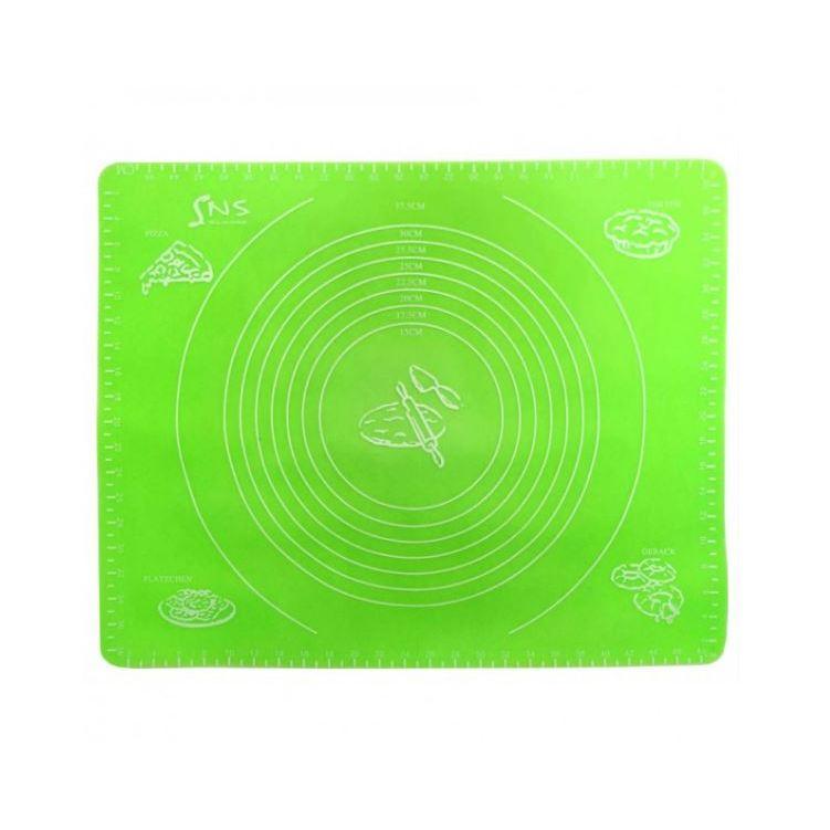 Силиконовый коврик с разметкой, 40х50 см