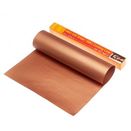 Коврик тефлоновый коричневый, 40х60 см