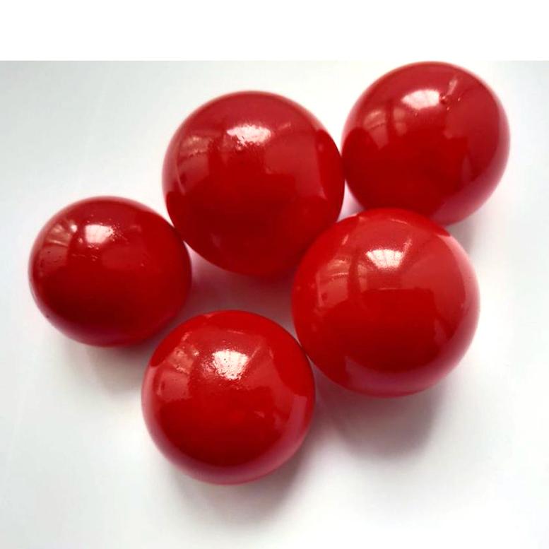 Желейні кульки червоні (5 шт/уп), Slado