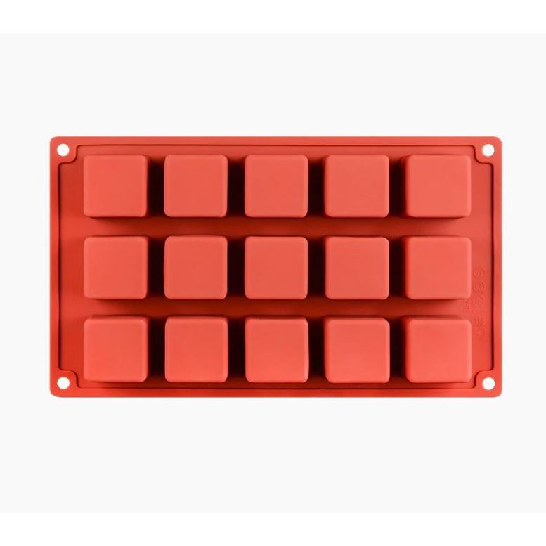 Силиконовая форма Кубики, 15 шт (3,4 х 3,4 см)