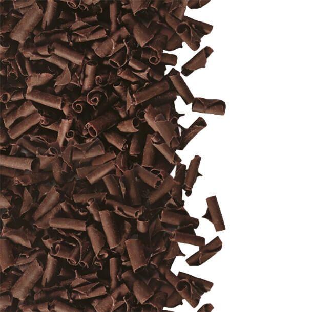 Шоколадний декор пелюстки Чорний шоколад, Barbara Luijckx, 100г