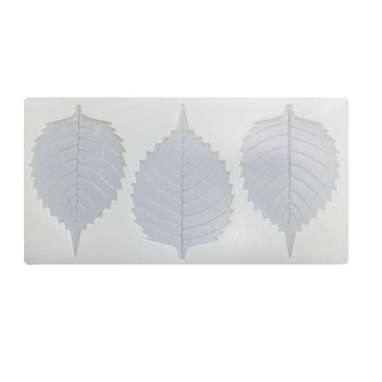 Силиконовая форма для шоколада Листья, 3 шт