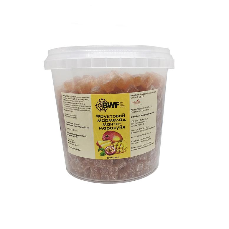 Фруктовий мармелад манго-маракуйя , 0,9 кг